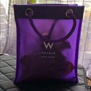 W Hotels 🏨 Vinyl Shopping 🛍 small in purple